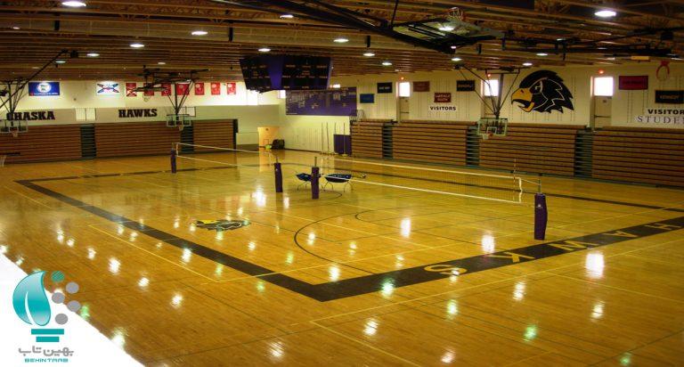 والیبال نورپردازی زمین والیبال والیبال یکی از محبوبترین ورزشهای دنیا محسوب میشود.