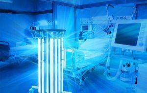 اثر ویروس کشی لامپهای UVC